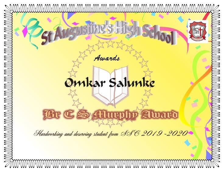 c s murphy award